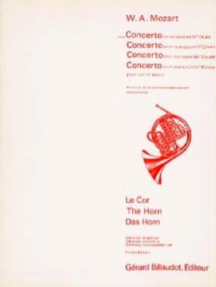 Concerto En Ré Majeur N° 1 K412 - MOZART - laflutedepan.com