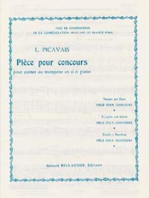 Pièce pour Concours - Lucien Picavais - Partition - laflutedepan.com