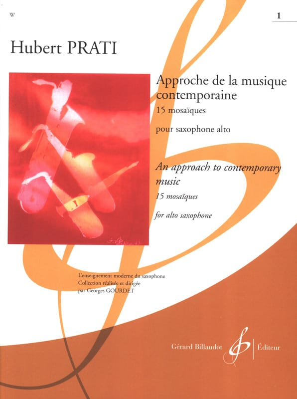 Hubert Prati - Approach to Contemporary Music - 15 Mosaics, Volume 1 - Partition - di-arezzo.co.uk