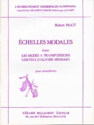 Hubert Prati - Modal scales - Partition - di-arezzo.co.uk