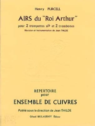 Henry Purcell - King Arthurs Melodien - Partition - di-arezzo.de