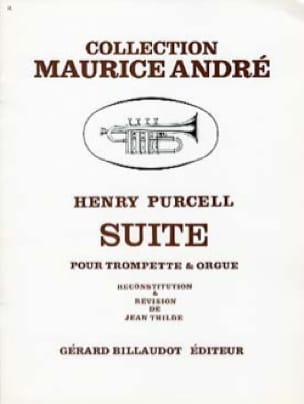 Suite - PURCELL - Partition - Trompette - laflutedepan.com