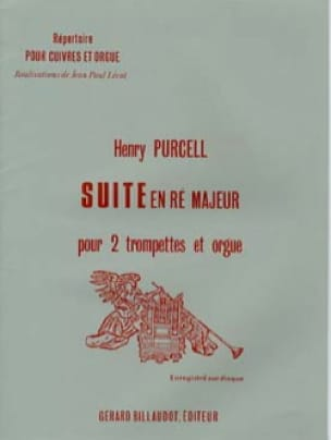Henry Purcell - Suite In Re Major - Partition - di-arezzo.com