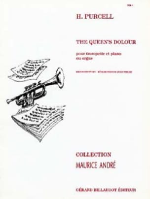 Henry Purcell - The Queen's Dolour - Partition - di-arezzo.com