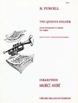 The Queen's Dolour - PURCELL - Partition - laflutedepan.com