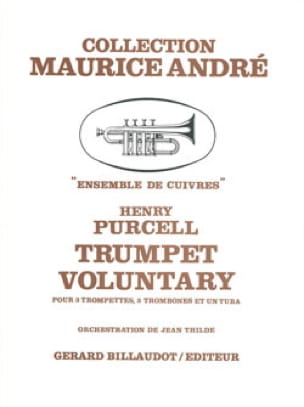 Trumpet Voluntary - PURCELL - Partition - laflutedepan.com