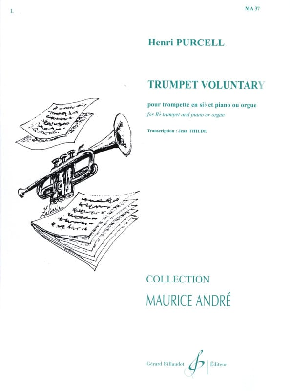 Trumpet Voluntary - PURCELL - Partition - Trompette - laflutedepan.com