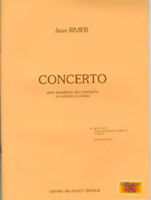 Concerto Réduction - Jean Rivier - Partition - laflutedepan.com
