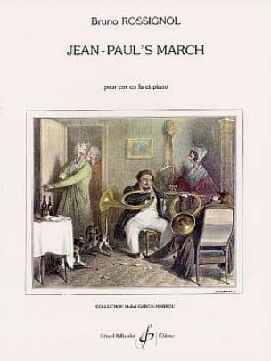 Jean-Paul's March - Bruno Rossignol - Partition - laflutedepan.com