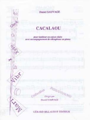 Cacalaou - Daniel Sauvage - Partition - laflutedepan.com