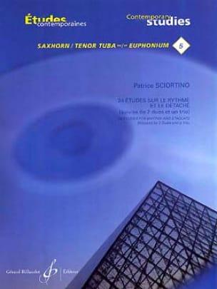 Patrice Sciortino - 24 Studies on rhythm and detach - Partition - di-arezzo.co.uk