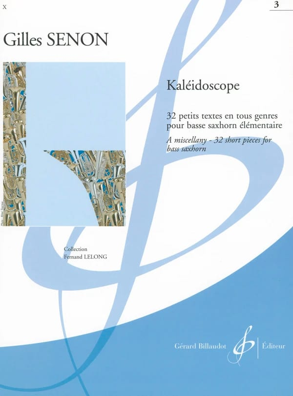 Gilles Senon - Kaleidoscope volume 3 - Partition - di-arezzo.com