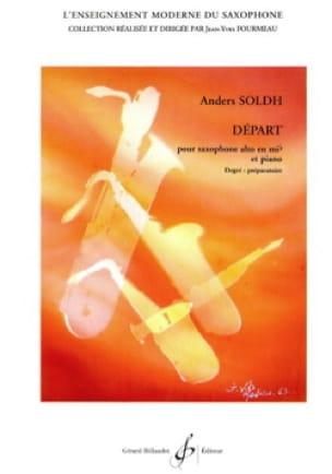 Départ - Anders Soldh - Partition - Saxophone - laflutedepan.com