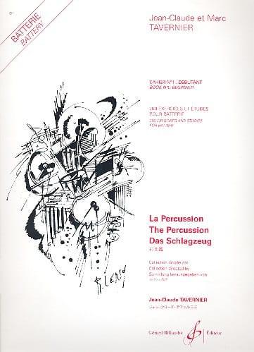 Jean-Claude Tavernier - 290 Exercises And Studies Notebook N ° 1 - Beginner - Partition - di-arezzo.com