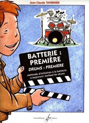 Batterie: Première - TAVERNIER - Partition - laflutedepan.com