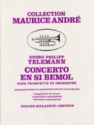 TELEMANN - Bb Concerto - Partition - di-arezzo.co.uk