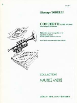 Concerto En Ré Majeur - TORELLI - Partition - laflutedepan.com