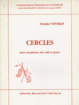 Cercles - Demis Visvikis - Partition - Saxophone - laflutedepan.com