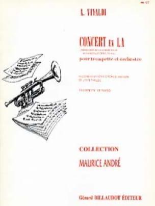 VIVALDI - Concert en LA RV 43 - Partition - di-arezzo.fr