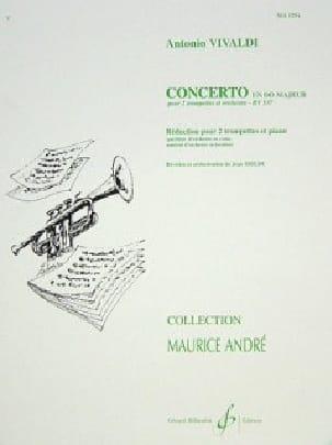 VIVALDI - Concerto En Do Majeur - Partition - di-arezzo.fr