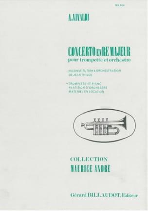 VIVALDI - Concerto En Ré Majeur - Partition - di-arezzo.fr