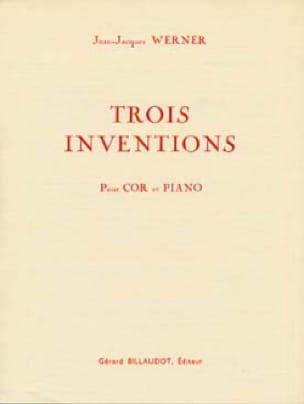 Trois Inventions - Jean-Jacques Werner - Partition - laflutedepan.com