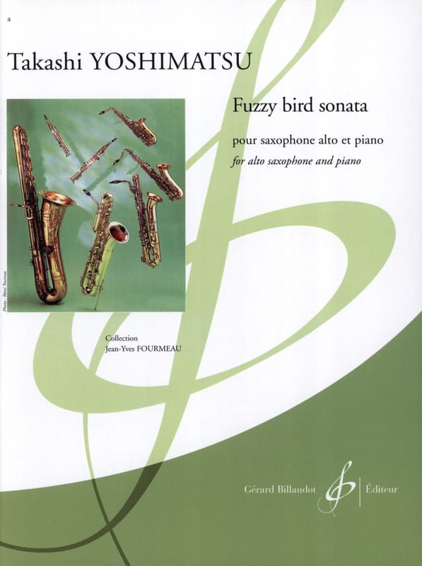 Takashi Yoshimatsu - Fuzzy Bird Sonata - Partition - di-arezzo.co.uk