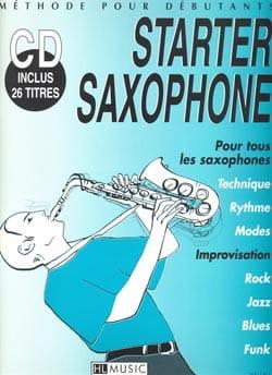 Starter Saxophone - Frédéric Truet - Partition - laflutedepan.com