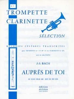 Auprès de Toi - N° 7 - BACH - Partition - Trompette - laflutedepan.com