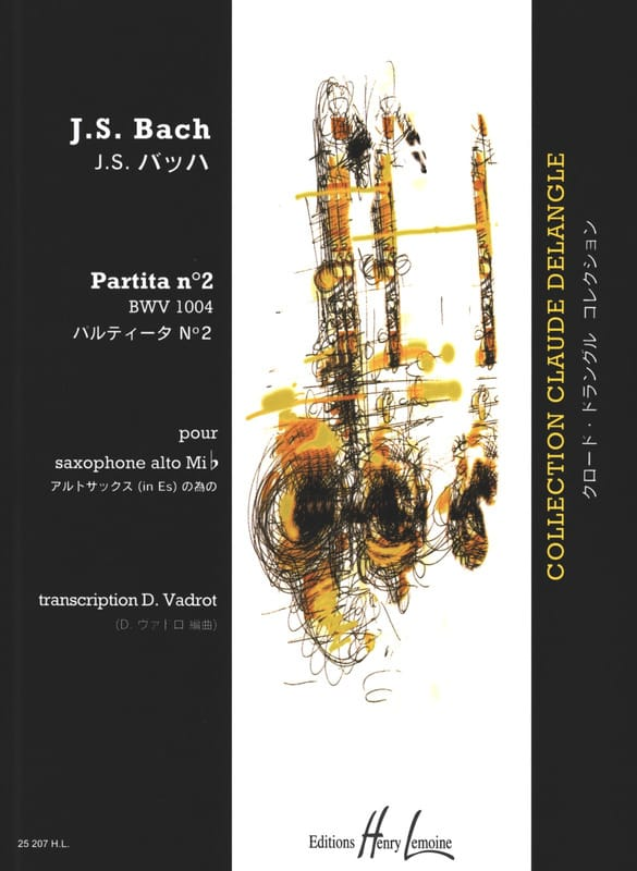 BACH - Partita N ° 2 BWV 1004 - Partition - di-arezzo.co.uk