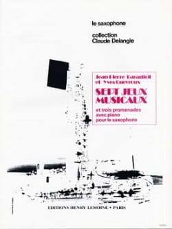 7 Jeux Musicaux et Trois Promenades - laflutedepan.com