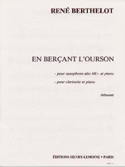 En Berçant L'ourson - Berthelot - Partition - laflutedepan.com