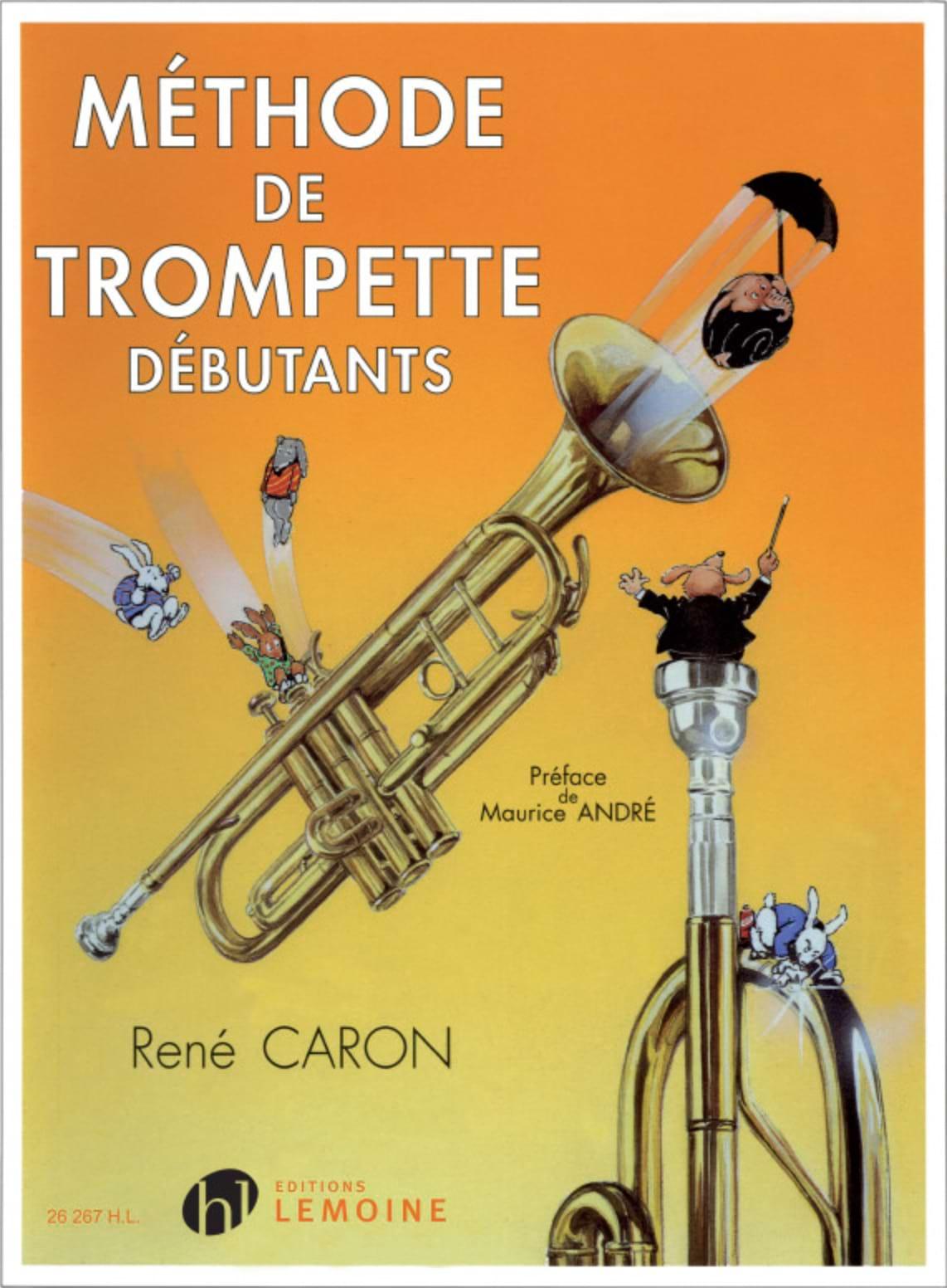 René Caron - Trumpet method - Partition - di-arezzo.com