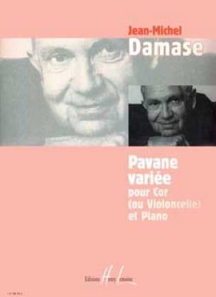 Jean-Michel Damase - Varied Pavane - Partition - di-arezzo.com
