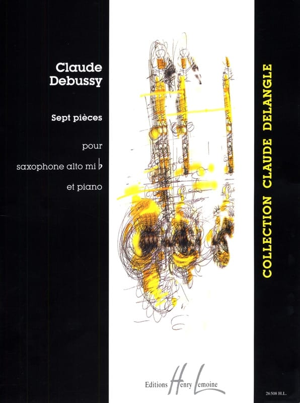 DEBUSSY - 7 Pieces - Partition - di-arezzo.co.uk