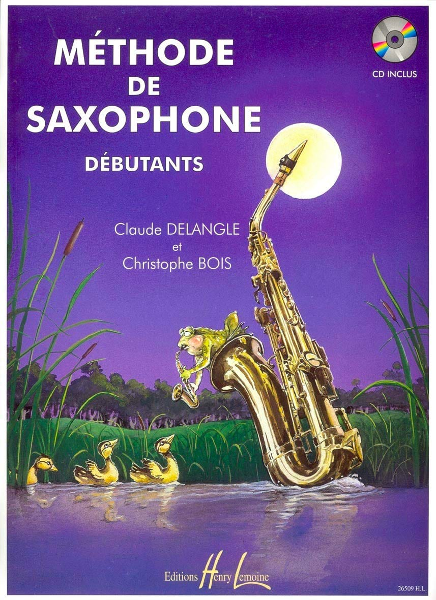DELANGLE - BOIS - Beginners Saxophone Method - Partition - di-arezzo.co.uk