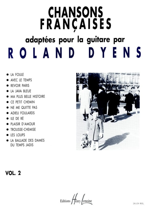 Roland Dyens - French Songs Volume 2 - Partition - di-arezzo.com