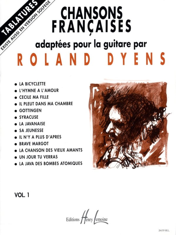 Roland Dyens - French Songs Volume 1 - Partition - di-arezzo.com