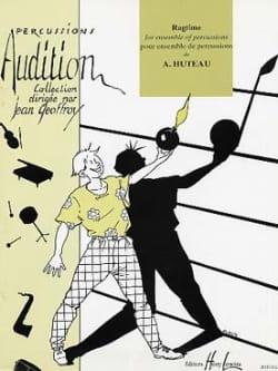 Ragtime - Alain Huteau - Partition - laflutedepan.com