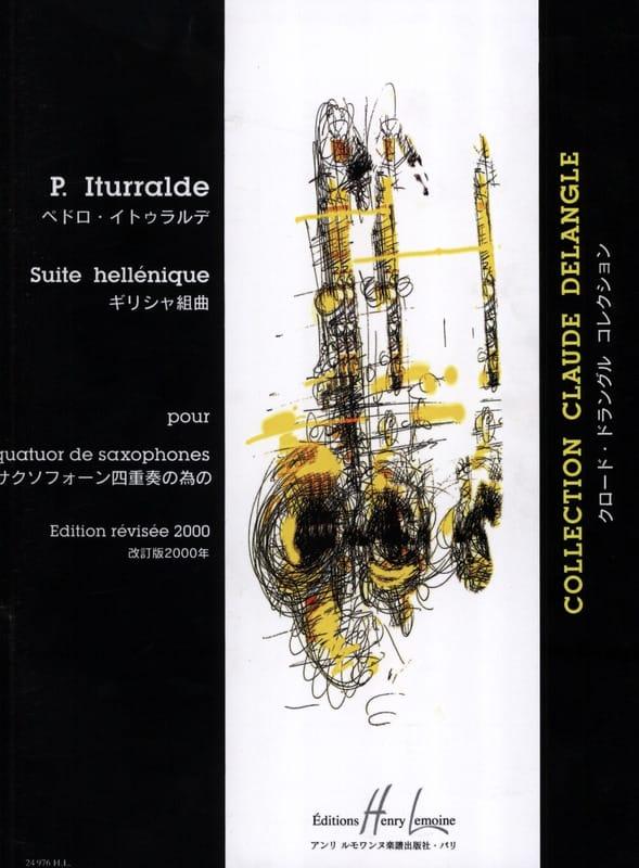 Pedro Iturralde - Hellenic Suite - Partition - di-arezzo.co.uk