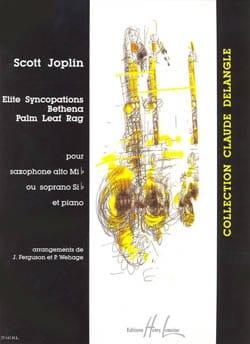 Scott Joplin - Síncopas de élite, Bethena, trapo de hoja de palma - Partition - di-arezzo.es