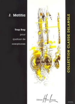 Trap Rag - Jean Matitia - Partition - Saxophone - laflutedepan.com
