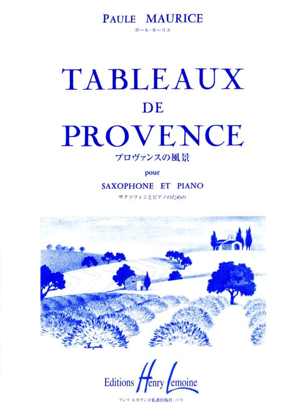 Paule Maurice - Tables of Provence - Partition - di-arezzo.co.uk