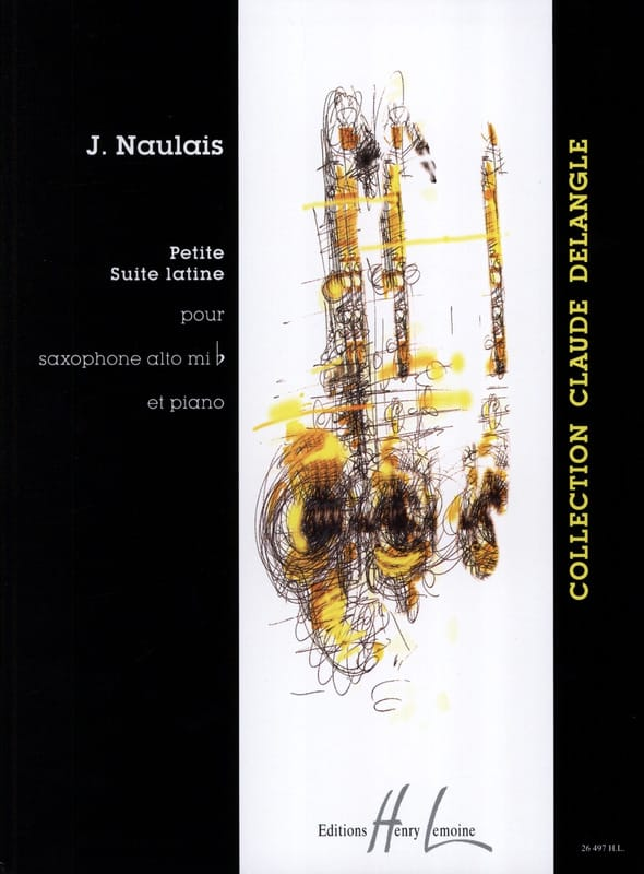 Jérôme Naulais - Small Latin Suite - Partition - di-arezzo.co.uk