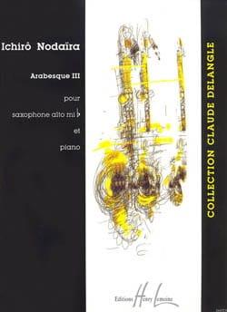 Ichirô Nodaira - Arabesque III - Partition - di-arezzo.com