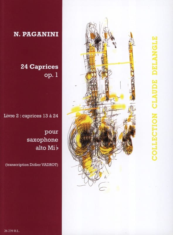 Niccolo Paganini - 24 Caprices Opus 1 Volume 2 - Partition - di-arezzo.co.uk