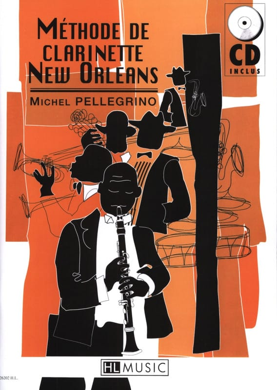 Michel Pellegrino - New Orleans Clarinet Method - Partition - di-arezzo.com