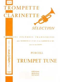 Henry Purcell - Trumpet Tune N ° 15 - Partition - di-arezzo.com