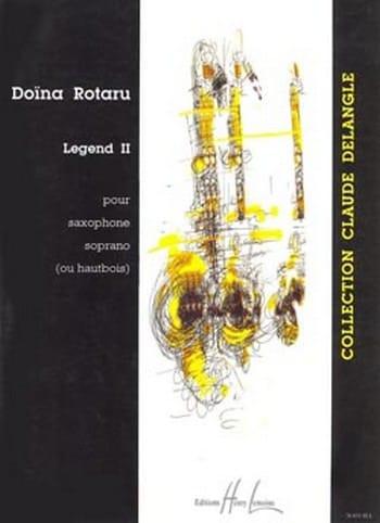 Legend II - Doïna Rotaru - Partition - Saxophone - laflutedepan.com