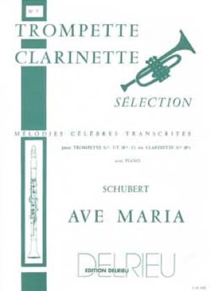 SCHUBERT - Ave Maria - Partition - di-arezzo.co.uk